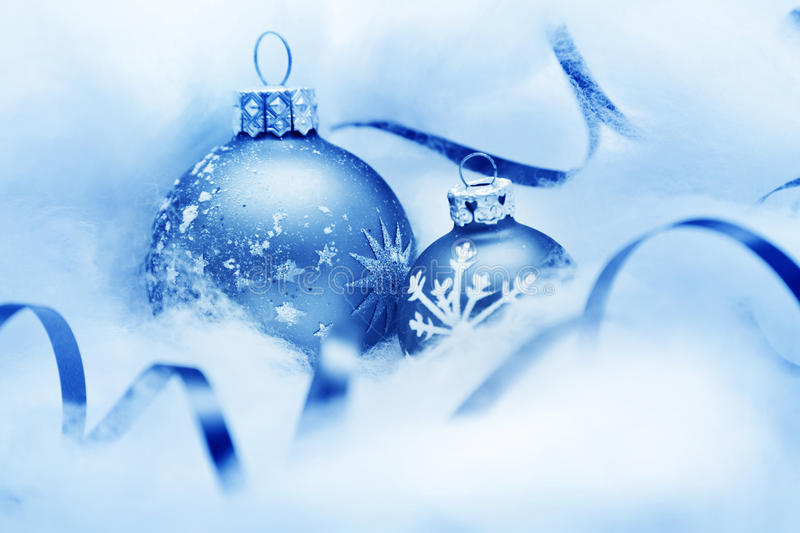 Download Christmas balls decoration stock photo. Image of frozen - 22077160