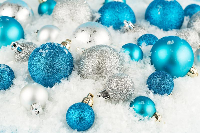 Christmas balls royalty free stock photo