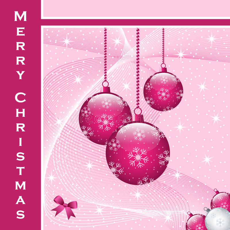 Christmas balls decorations vector illustration