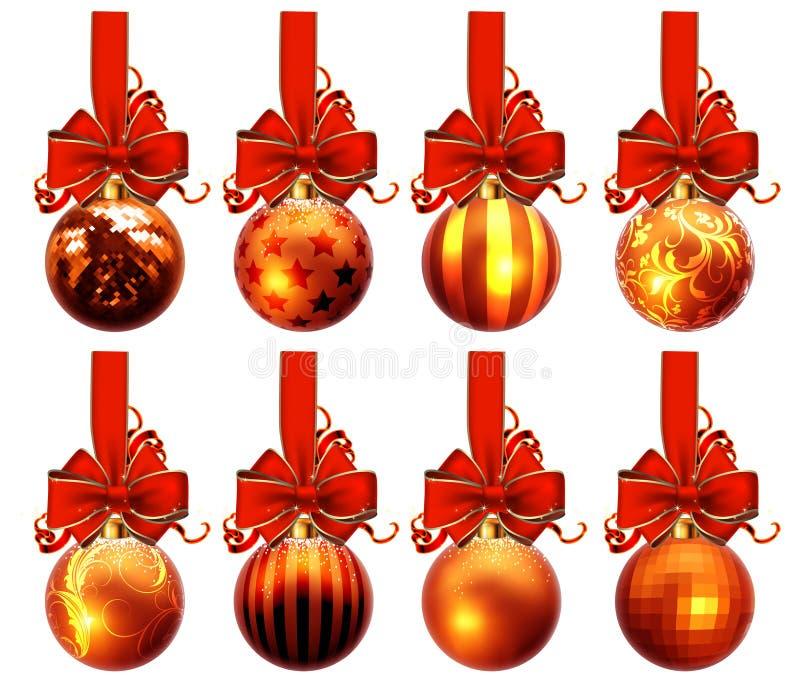 Download Christmas Balls Design Stock Vector Illustration Of Season