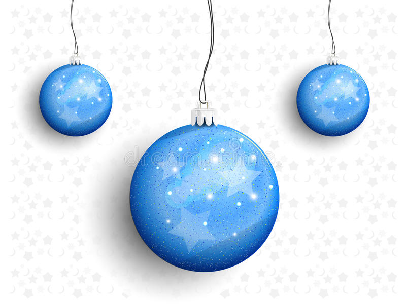 Download Christmas Balls On A String Stock Vector - Image: 35266548