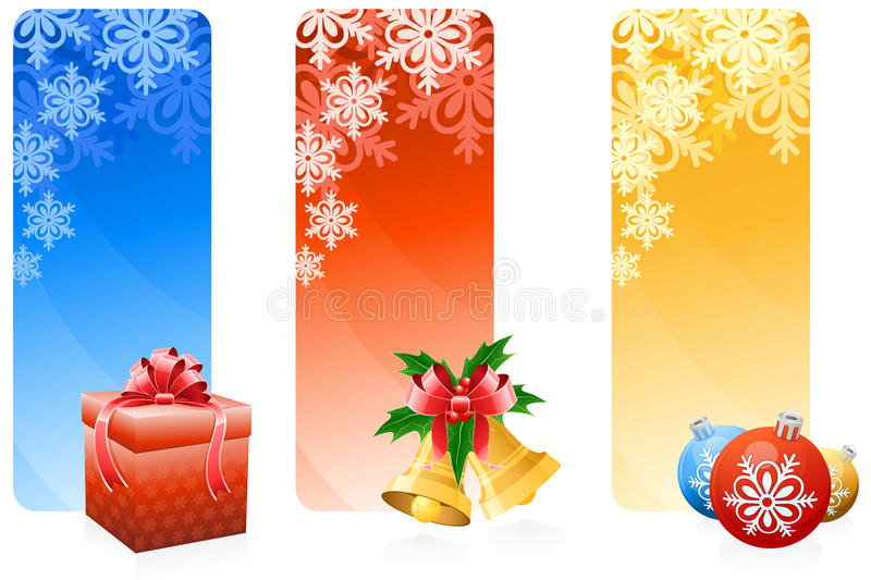 Download Christmas banner stock vector. Image of decoration, snow - 11574262