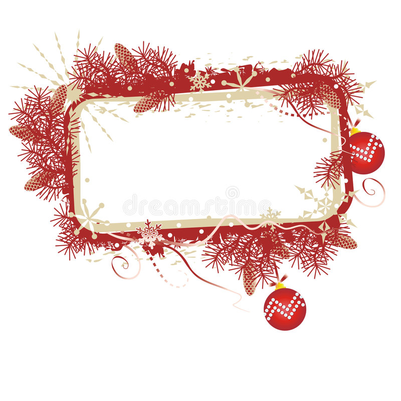 Christmas banner royalty free illustration