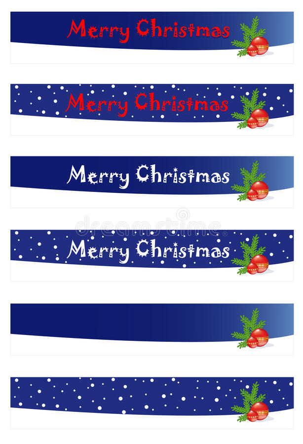 Download Christmas banners stock illustration. Image of clip, background - 11823171