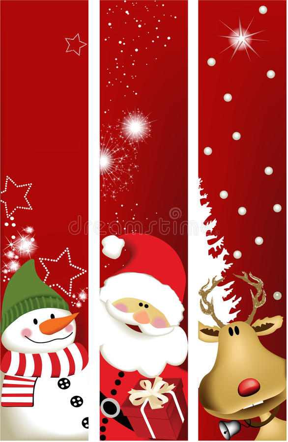 Free Christmas Banners Royalty Free Stock Images - 16063589