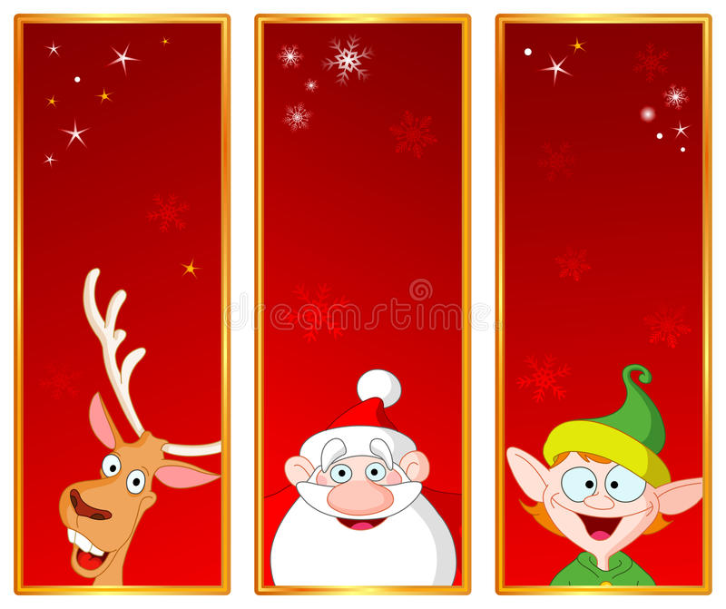 Download Christmas banners stock vector. Illustration of evening - 16885665