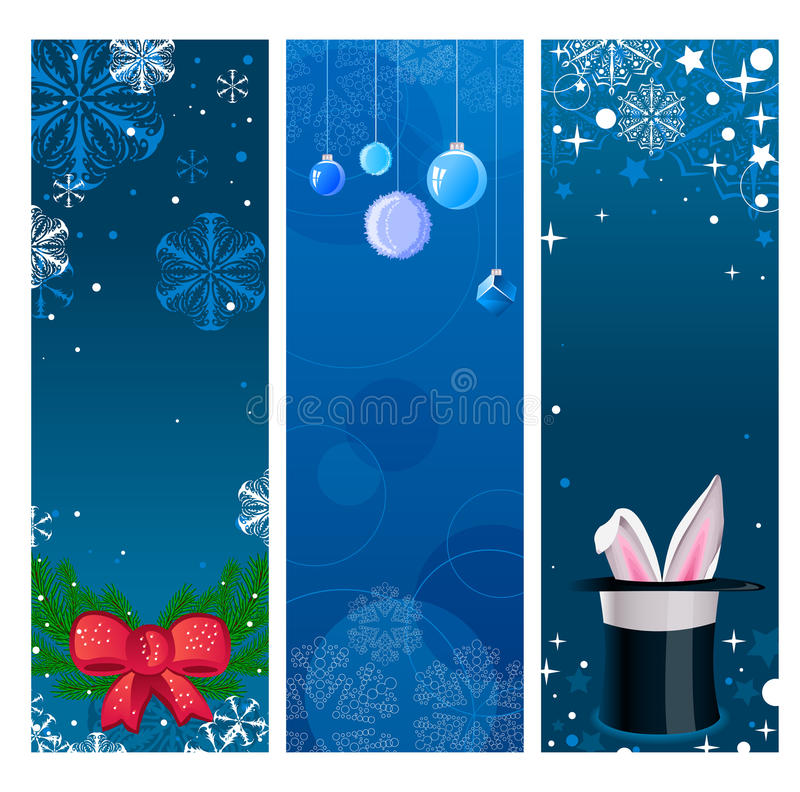 Download Christmas banners stock vector. Image of celebration - 17098491