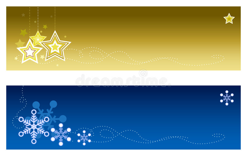 Christmas Banners #2 royalty free stock photos