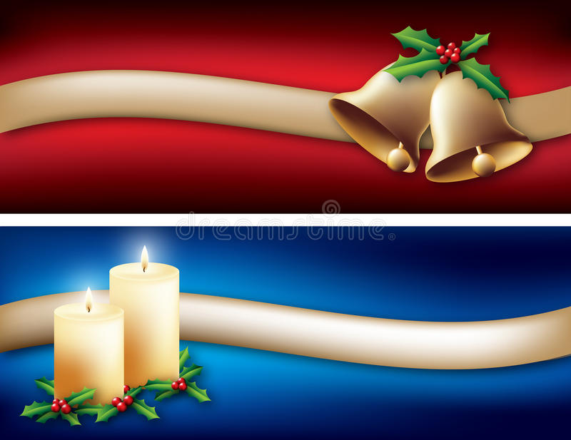 Download Christmas Banners stock vector. Image of banner, colourful - 21895892