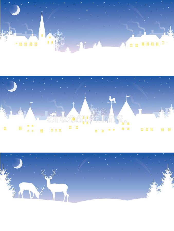 Download Christmas banners. stock illustration. Illustration of lighting - 21964233