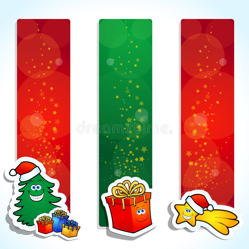 Download Christmas banners stock vector. Image of illustration - 22061019