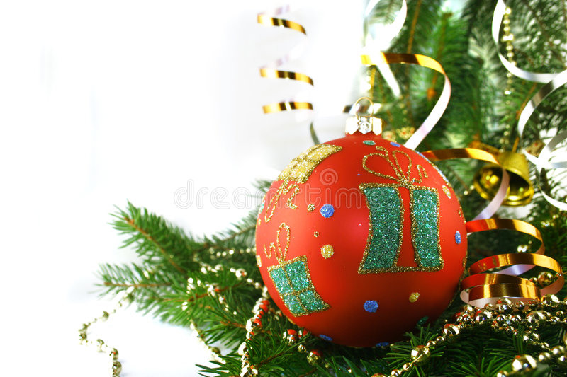 Christmas bauble royalty free stock photos