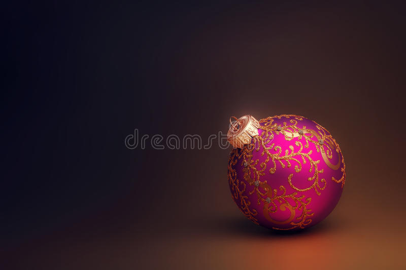 Download Christmas bauble stock image. Image of studio, dark, colored - 27894689
