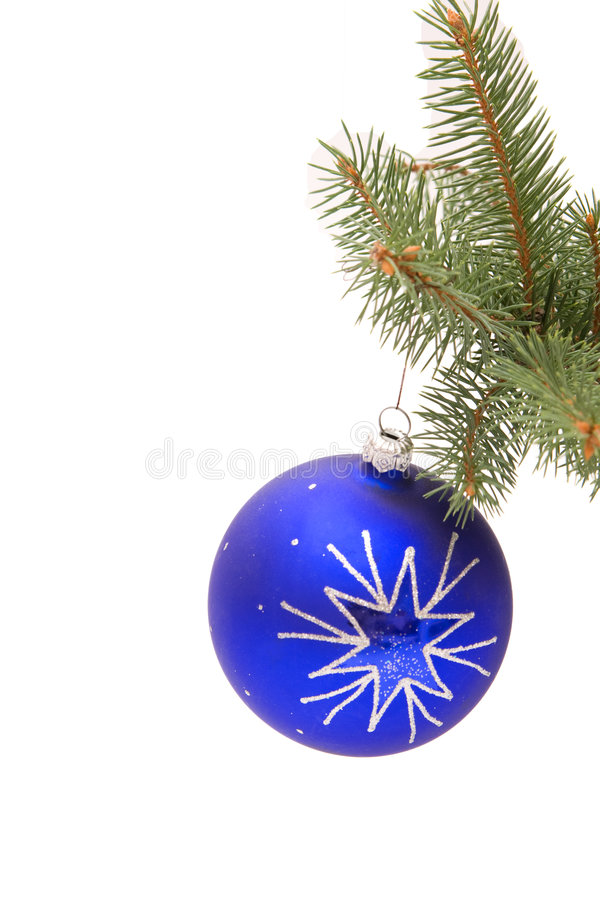 Christmas bauble stock photography