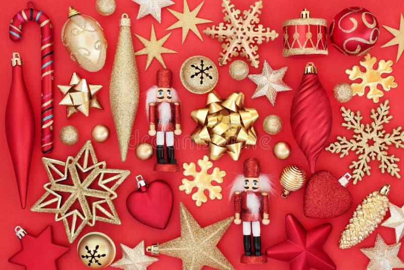 Christmas Bauble Background royalty free stock image