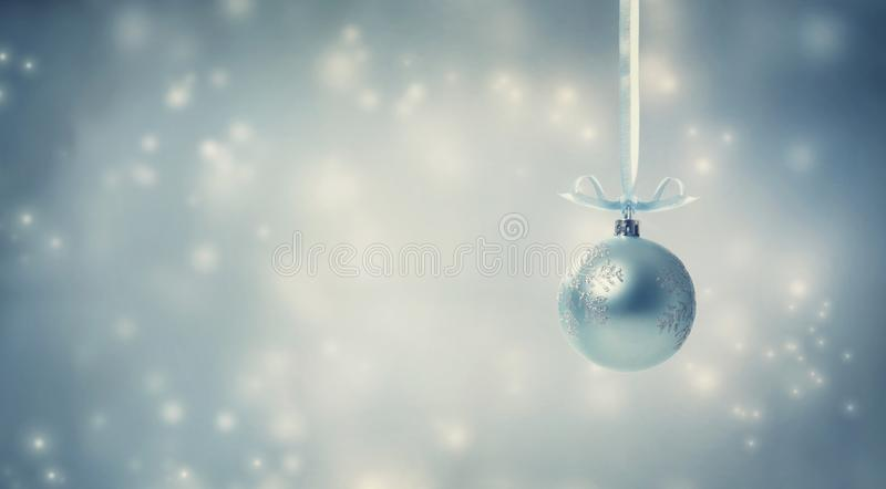 Christmas bauble Colorful abstract shiny light background royalty free stock photos