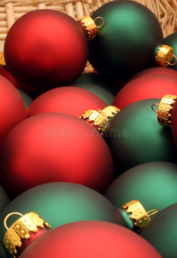 Free Christmas Baubles Stock Image - 1530601