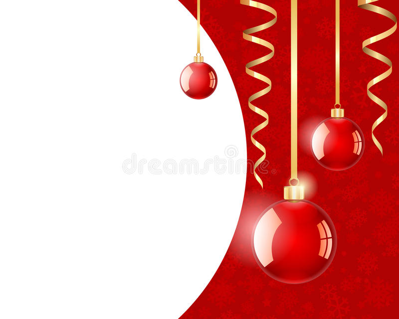 Download Christmas baubles stock illustration. Image of copy, yuletide - 17408954