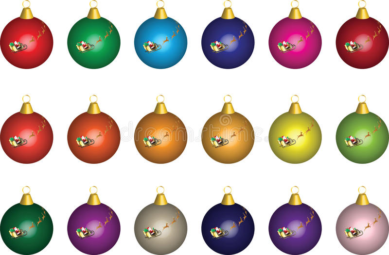 Download Christmas Baubles stock image. Image of closeup, background - 22511519