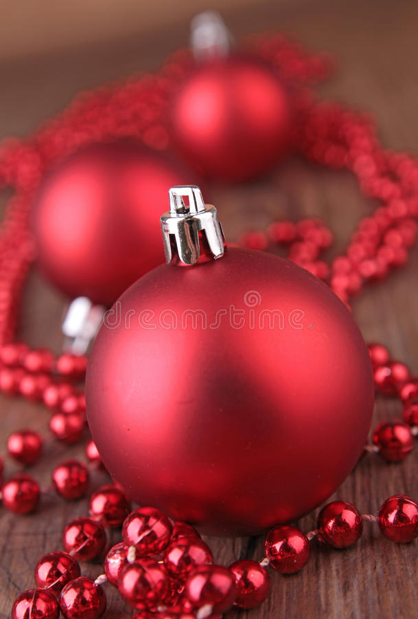 Download Christmas baubles stock photo. Image of year, ball, background - 26557818
