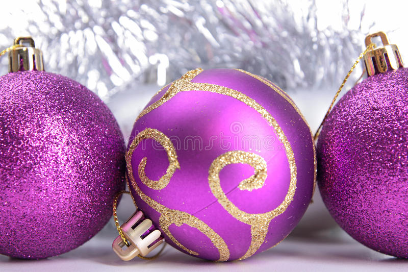 Download Christmas baubles stock image. Image of holiday, sphere - 27600177