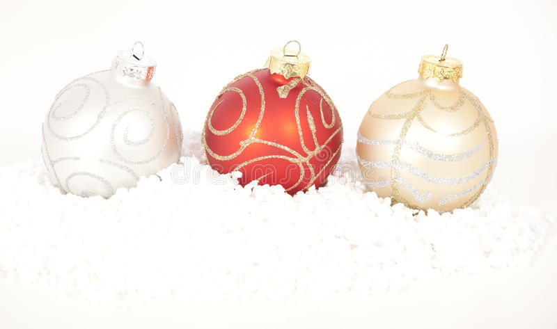Download Christmas baubles stock photo. Image of shining, christmas - 28037076