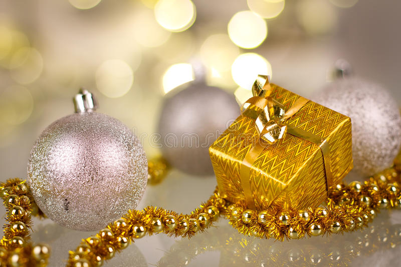 Download Christmas baubles stock photo. Image of bright, blurred - 28120080