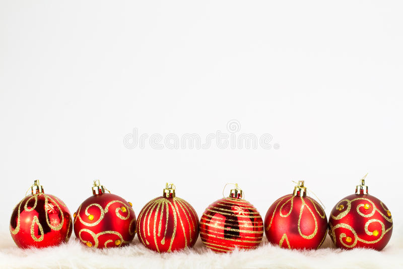 Download Christmas Baubles Background Stock Photo - Image of party, holiday: 17311578