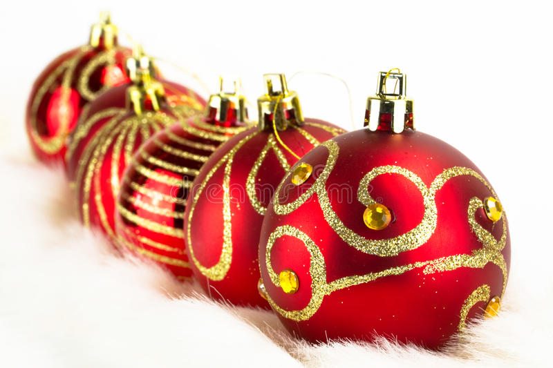 Download Christmas Baubles Background Stock Photo - Image: 17311600