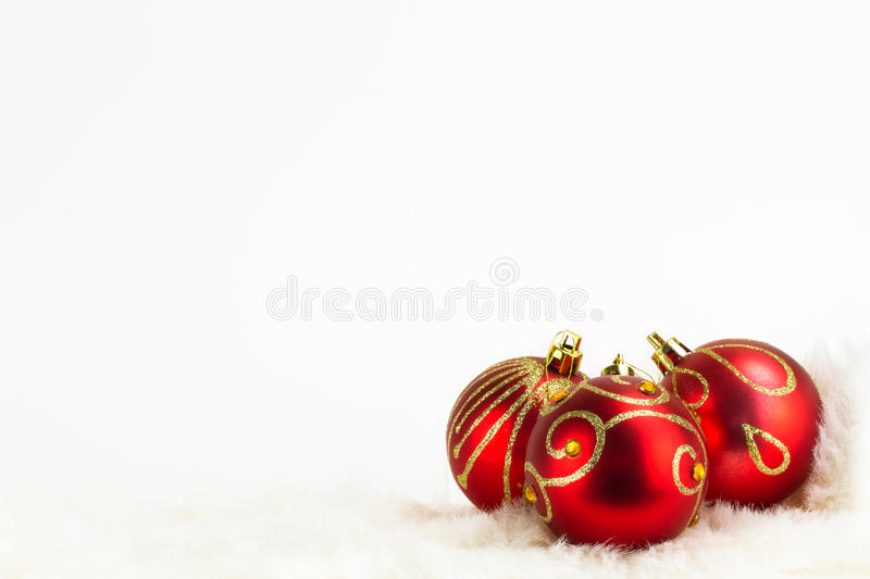 Download Christmas Baubles Background Stock Image - Image: 17311625