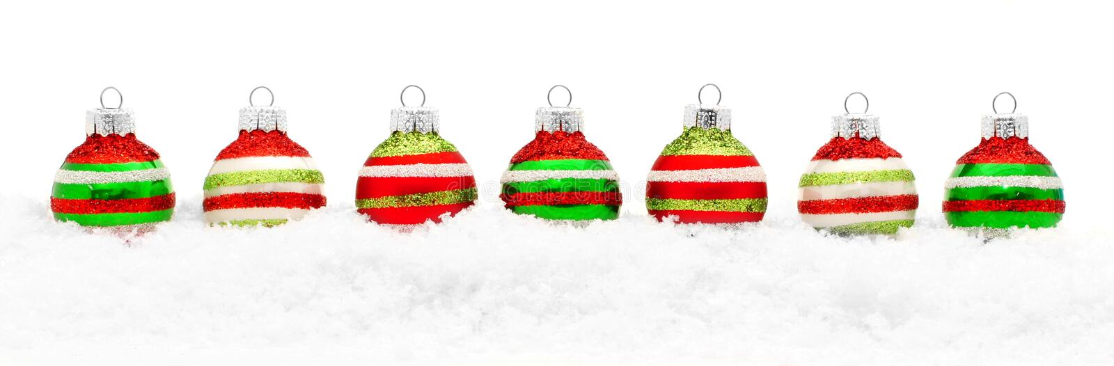 Download Christmas baubles stock photo. Image of decoration, colorful - 35103724