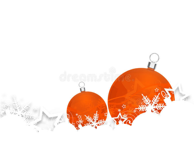 Christmas baubles. For your design vector illustration
