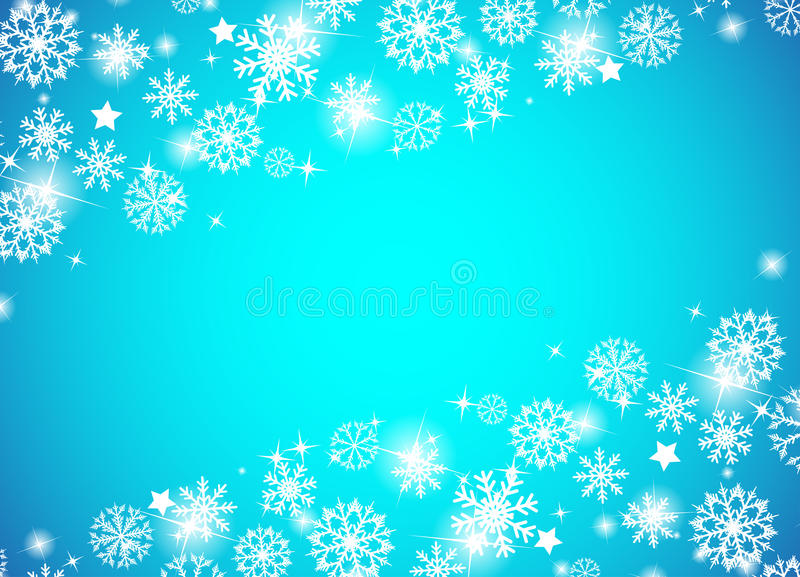 Download Christmas Beautiful Blue Background Stock Vector - Image: 28017778