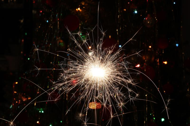 Beautiful Christmas and New Years scene. Christmas / Beautiful Christmas and New Years scene royalty free stock photo