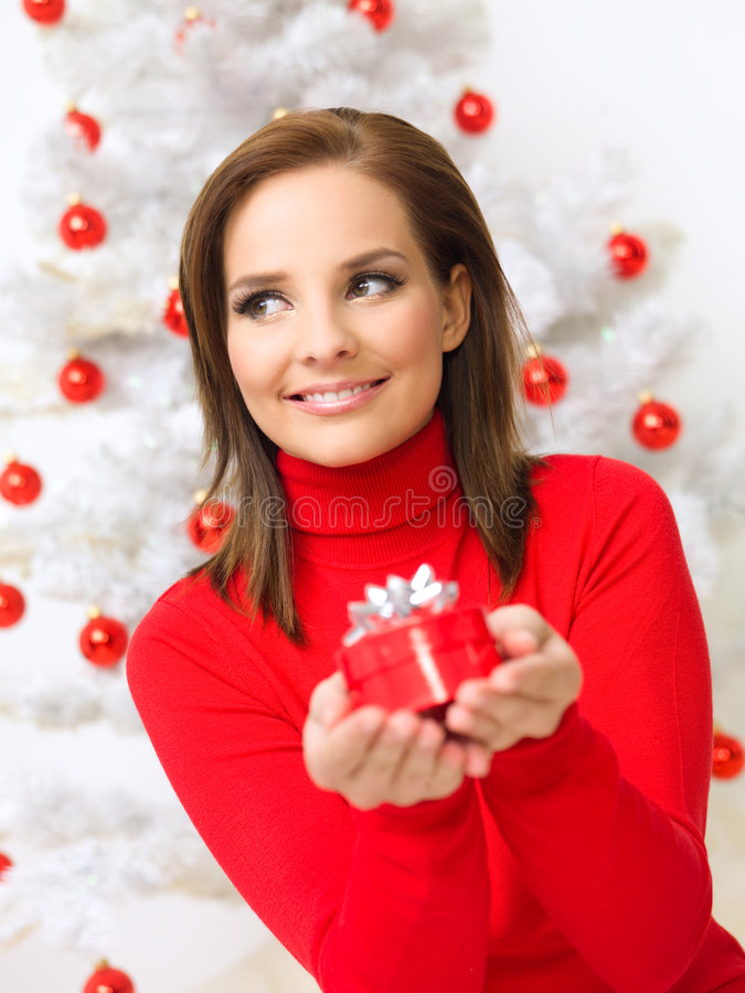 Download Christmas Beauty stock image. Image of happiness, decoration - 6714515
