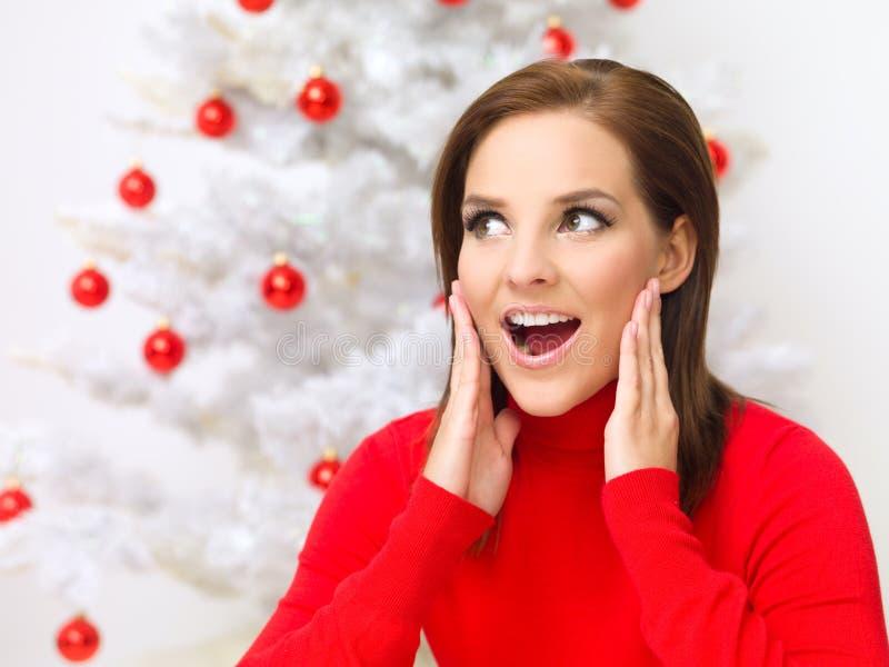 Download Christmas Beauty stock image. Image of christmas, smiling - 6714525