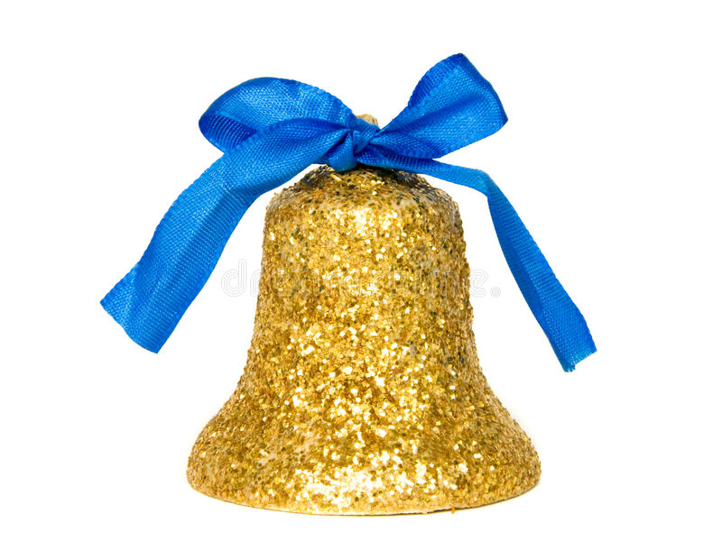 Download Christmas bell stock image. Image of isolated, golden - 11258731