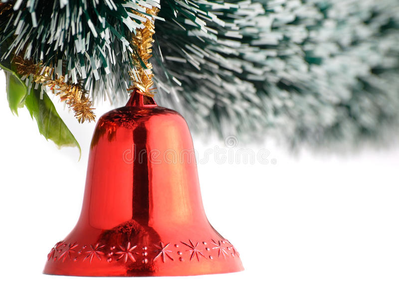 Download Christmas bell stock image. Image of holiday, copy, golden - 16876969