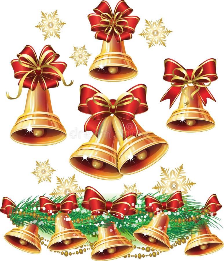 Christmas bell royalty free illustration