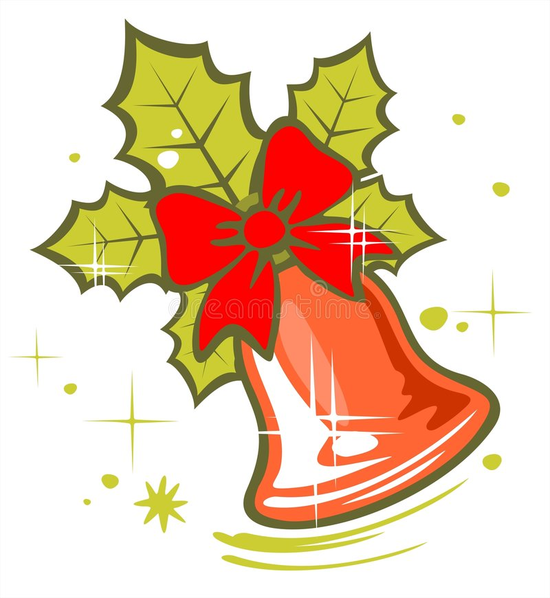 Christmas Bell Stock Photography