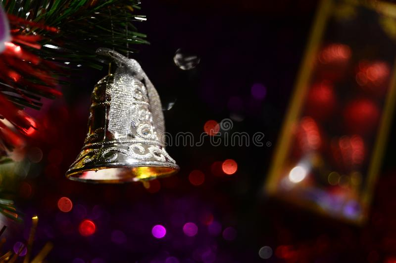 Christmas bell for brosur and banner. This Image for your banner and poster business royalty free stock images