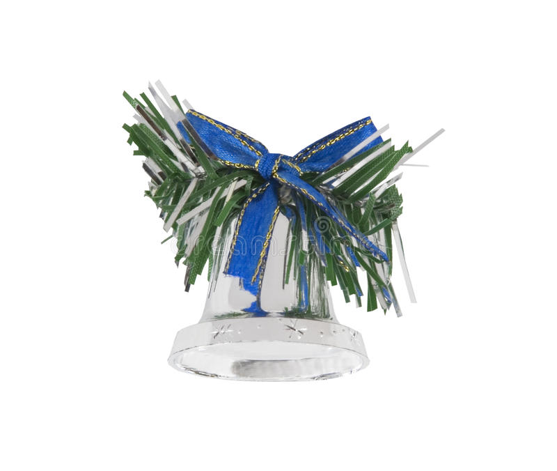 Download Christmas Bell Isolated Over White Stock Image - Image: 11799285