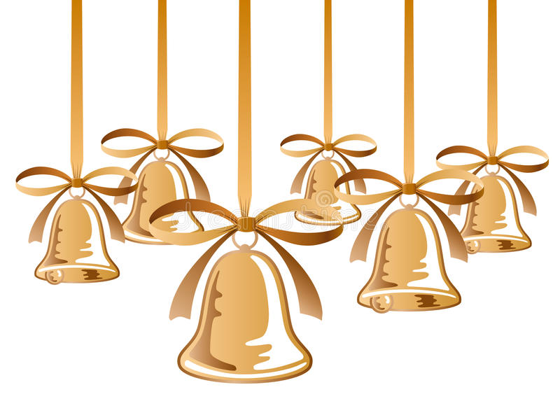 Download Christmas bells stock vector. Image of design, graphic - 11985500