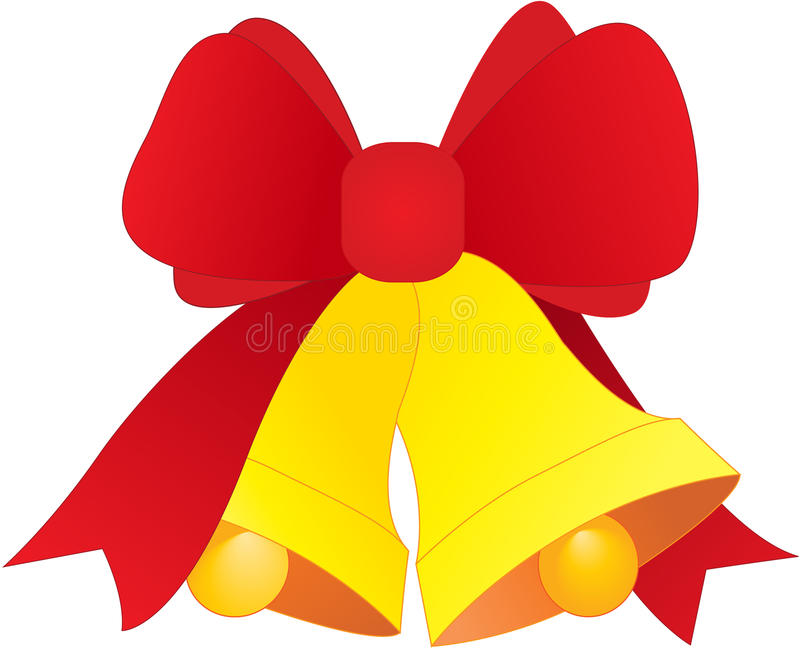 Christmas Bells. Element for design illustration stock illustration