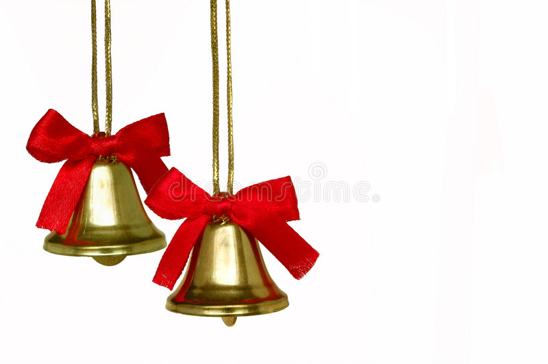Download Christmas Bells stock photo. Image of ribbon, detail, celebration - 2688940