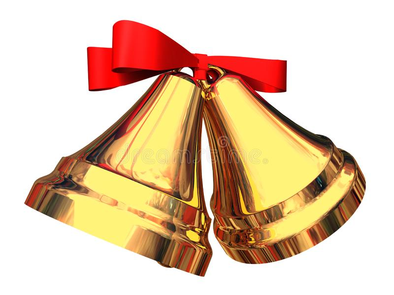 Christmas bells royalty free stock image