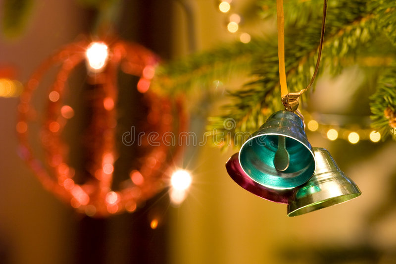 Download Christmas bells stock image. Image of happiness, dots - 7211471