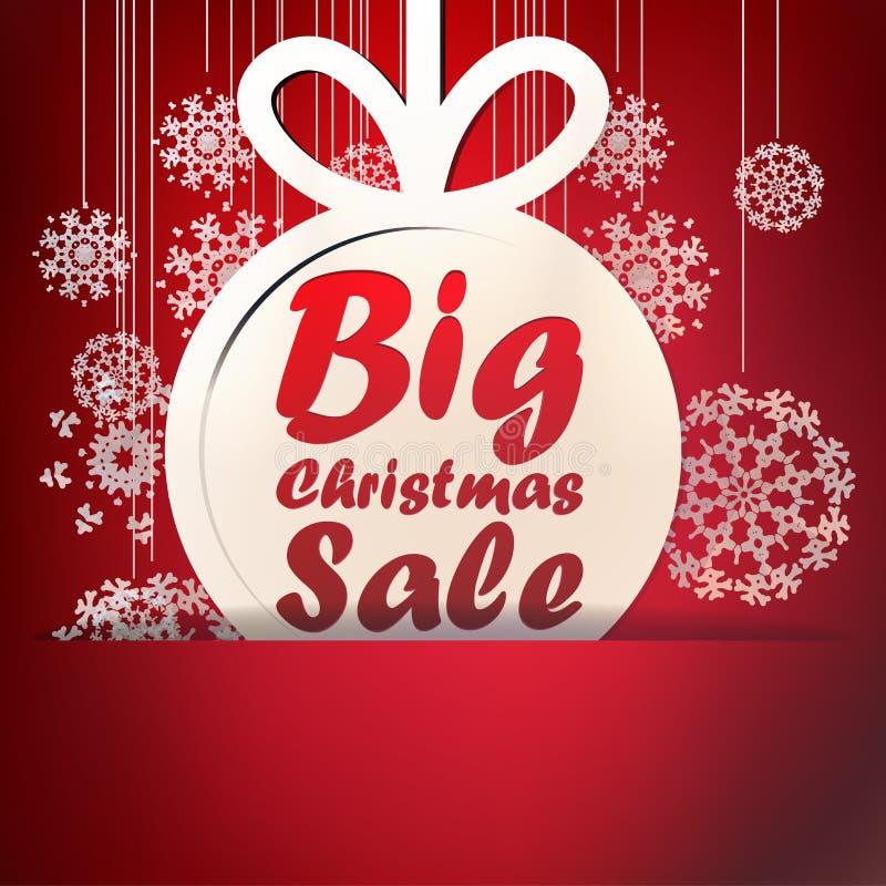 Christmas Big Sale template. + EPS10