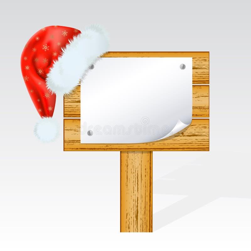 Christmas Billboard Royalty Free Stock Photography