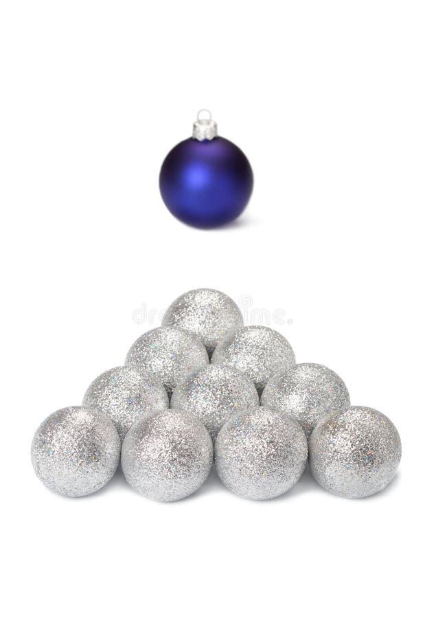 Christmas billiards stock photography
